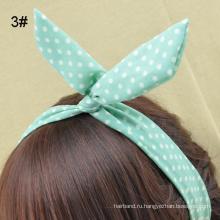 Головная повязка для уха кролика с узором для укладки волос (HEAD-211)