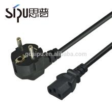 СИПУ высококачественный кабель шнур питания переменного тока 220 в ЕС 2-контактный силовой разъем рис. 3 шнур питания