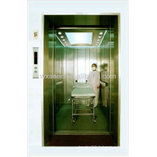 5000kg Ascenseurs d'hôpital ouverture du centre de quatre panneaux