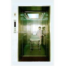 Elevadores do hospital de 5000kg abertura do centro de quatro painéis