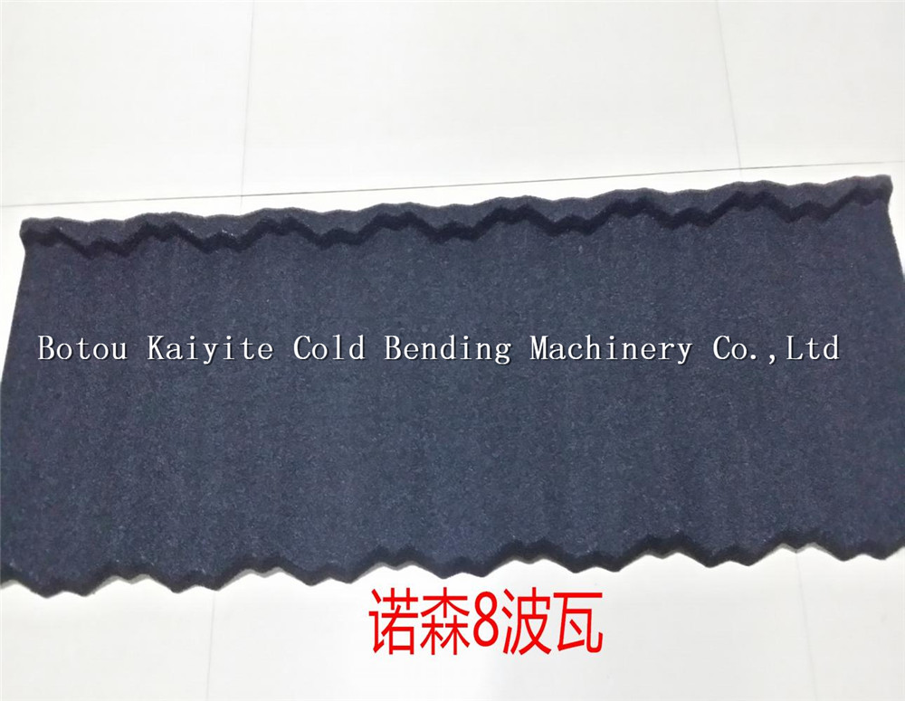 stone coated metal roofing tile machine factory price