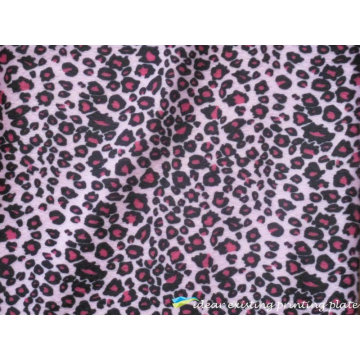 Purple Leopard Patterns Printed Scarf