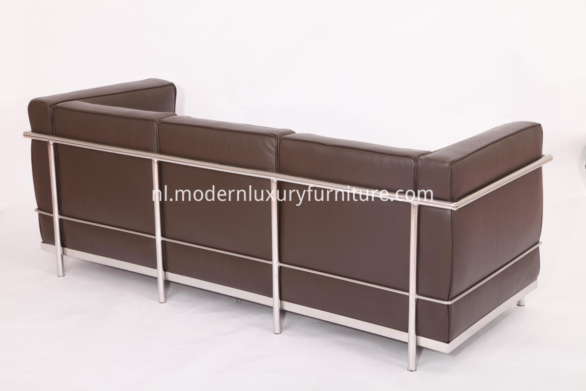 LC2 modern leather sofa
