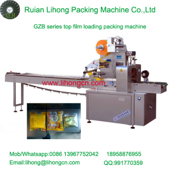 Gzb-350A High Speed Pillow-Type Automatic Hot Snacks Flow Wrapping Machine