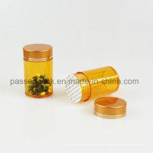 Amber Pet Pharmazeutische Flasche für Medizin Kapsel (PPC-PETM-011)