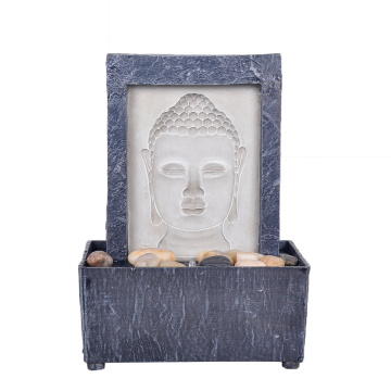 Leading for Tabletop Fountain Table Fountain  Buddha Face export to Armenia Factories