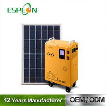300W Solar home kit portable solar powered Generator