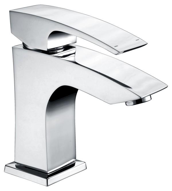 Brass basin faucet with zinc handle mixer taps