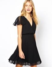 Wholesale Fashion Women Clothes Pleated Dress (JK11010)