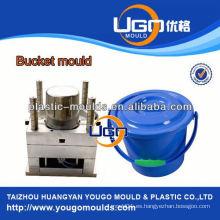 15L agua cubo molde hogar molde de inyección fábrica