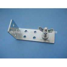 Curtain accessories-Iron curtain wall bracket or installation bracket for Bamboo blinds