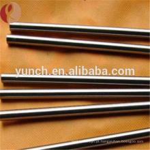 liga de ferro de níquel de tungstênio WNiFe WNiCu bar / haste