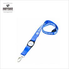 3/4 Zoll Kundenspezifisches Siebdruck-Logo Personalisierte Lanyards für neue Premium Promotion