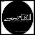 K9 Laser haute qualité gravée Crystal Keychain porte-clés