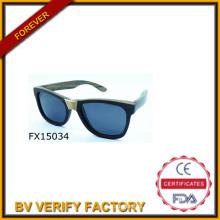 2015 Handmade Black Wooden Sunglasses&Fudan Glasses (FX15034)