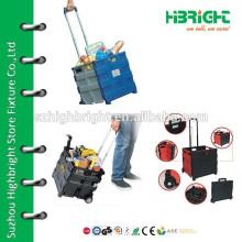 roller plastic folding cart
