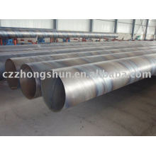 welded spiral pipe SSAW API ASTM GR.B 16MN MILL HOT SELL