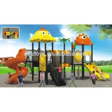 2015 Niños preescolares Juguetes EB10197 Tobogán de plástico Zona de juegos al aire libre