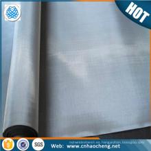 Ácido alcalino resistente a la tela de malla de alambre de níquel puro para el cribado de la filtración de gas líquido