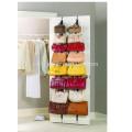 Hanging Closet Door Storage Unit Purse Handbag Belt Scarf Organizer Rack