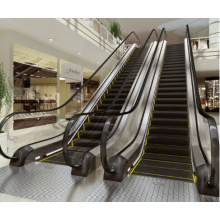 Vvvf Control Commercial Escalator with 35 Degree 1000mm/800mm/600mm Step Width