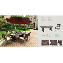 Outdoor Cast Aluminium Table (HY-T002)