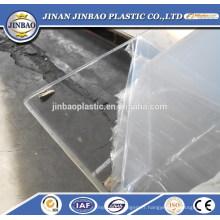 SGS disponible excellente qualité claire feuille de plastique perspex