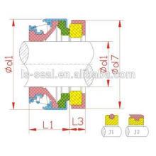 301 silicon rubber seal