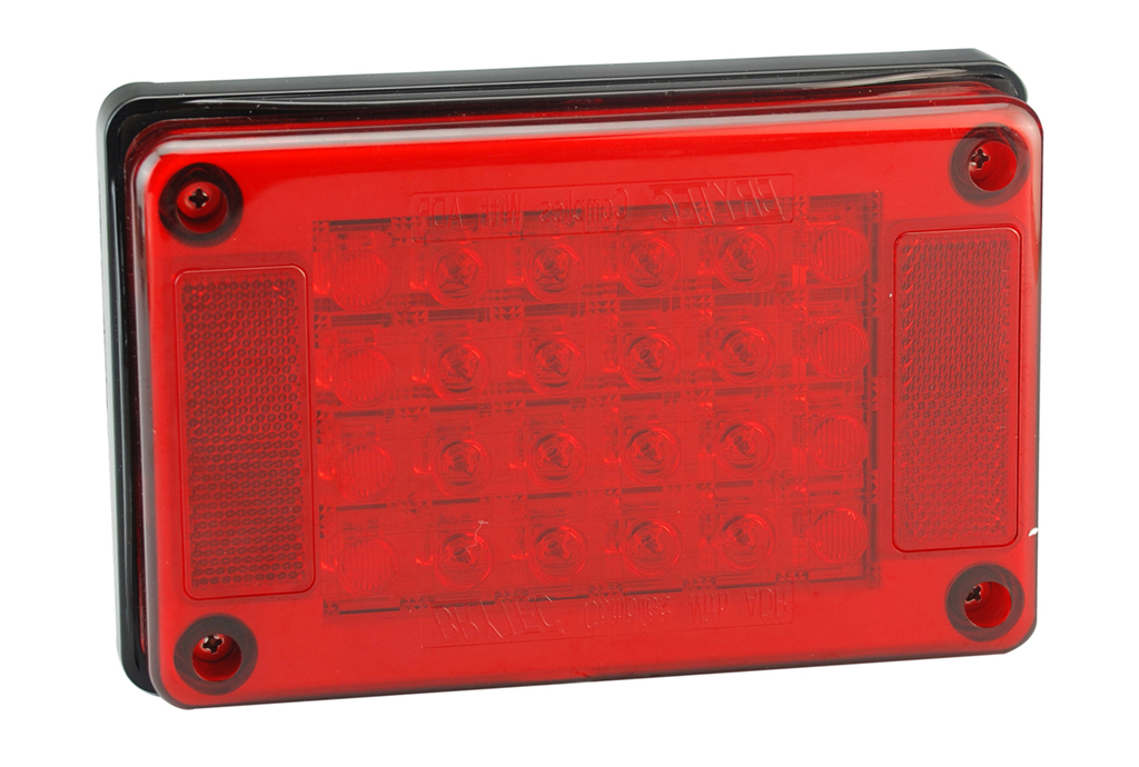 100% Waterproof LED Truck Rectangle Stop Tail Lights