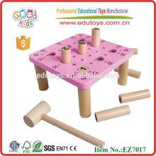Figura Empilhar Matemática Knock Desk Brinquedos de madeira