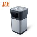 JAH Hotel Lobby Round Ashtray Stand Trash Bin