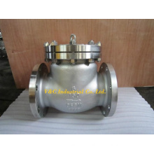 Stainless Steel API 6D Flanged Swing Check Valve