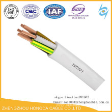 Class 5 type Copper PVC Insulated MYYM H05VV-F Flexible Cables