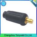 70-95mm2 tig soldadura conector de cable macho