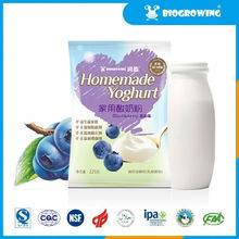 blueberry taste lactobacillus yogurt maker machine