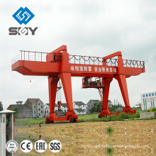 A model 30ton gantry crane box structure for long size materials