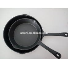 Kitchen accessories non enamel cast iron frying pan