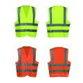 safety vest high visibility reflective vest reflective safety straps vest with pockets safety clothing