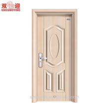 La meilleure porte en acier inoxydable de la meilleure qualité porte des portes d'entrée en acier