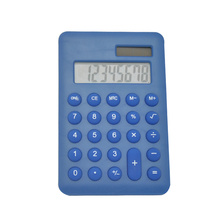 Cute Mini Portable Calculator with Round Key