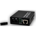 Cat5 POE Ethernet Fiber Optic Converter