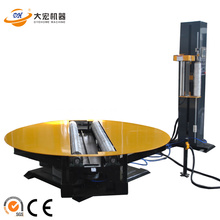 Direct stretch film cylinder wrapping machine