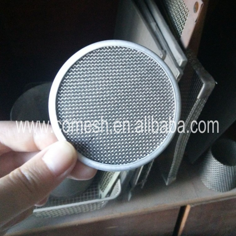 Micron Stainless Steel Filter Disc with edge China Manufacturer
