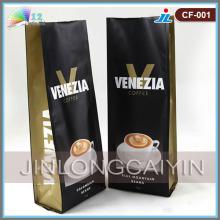 Bolsa de café con fuelle lateral