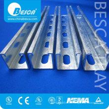Canal de Unistrut del acero inoxidable de la flexión en frío de alta calidad