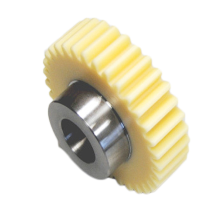 Factory Transmission Spur Gear Steel Hub Compound Gear