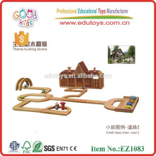 Kindergarten Wooden Block Construction Toy
