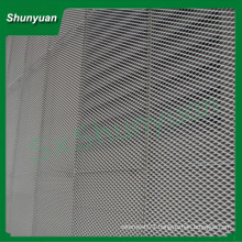 newest stretched metal mesh /diamond aluminum expanded metal mesh machine/industry/decoration