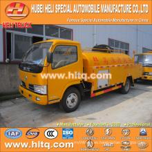 DONGFENG 4x2 LHD / RHD 5000L camión de dragado de alcantarillado 120hp motor precio barato