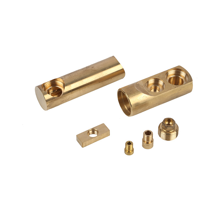 Brass screw caps for kitchen faucets